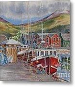 Dingle-harbour-ii Metal Print