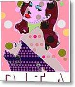 Dita Metal Print by Ricky Sencion