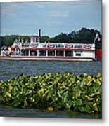 Dixie Boat Metal Print by Thomas Fouch