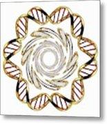 Dna (deoxyribonucleic Acid) Metal Print