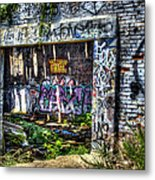 Address Unknown Metal Print