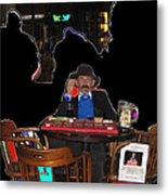 Doc Holliday Teaching Faro Crystal Palace Saloon Tombstone Arizona 2004  Metal Print