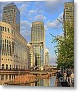 Docklands London Metal Print