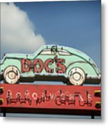 Doc's Bar And Grill Metal Print