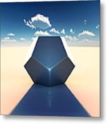 Dodecahedron Metal Print