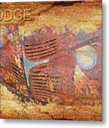 Dodge In Rust Metal Print