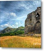 Dolbadarn Castle Metal Print