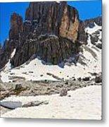 Dolomites - Pisciadu Peak Metal Print