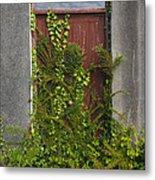 Door Of Old House Metal Print