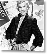 Doris Day, 1953 Metal Print