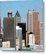 Downtown Atlanta Metal Print