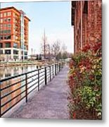 Downtown Greenville Sc Metal Print
