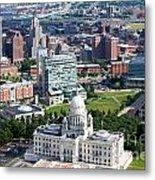 Downtown Providence Rhode Island Metal Print