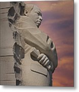 Dr. Martin Luther King Jr Memorial Metal Print