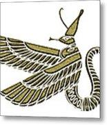 Dragon - Demon Of Ancient Egypt Metal Print