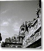 Dramatic Borobudur Metal Print