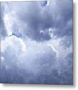 Dramatic Cloudy Sky Metal Print