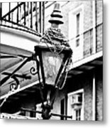 Dressed For The Party- Bw Metal Print