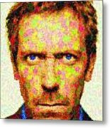Dr. House - Maple Leaves Metal Print