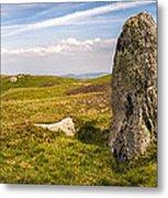 Druids Stone Circle Metal Print