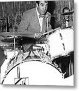 Drummer Gene Krupa Metal Print