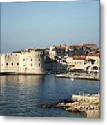 Dubrovnik In Croatia Metal Print