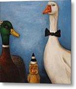 Duck Duck Goose Metal Print