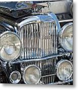 Duesenberg Front Chrome Automobile Grille Metal Print