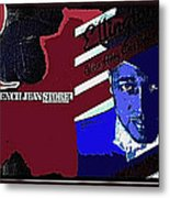 Duke Ellington And The French Jean Store Collage Coney Island New York 1977-2012 Metal Print