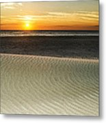 Dune Sunrise Metal Print