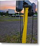 Dusk At The Drive In Movie Metal Print