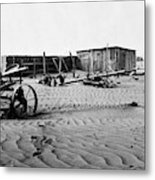 Dust Bowl, C1936 Metal Print