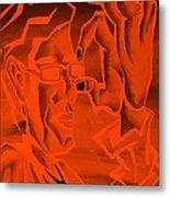E Vincent Orange Metal Print
