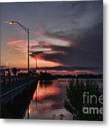 Early Morning View Metal Print