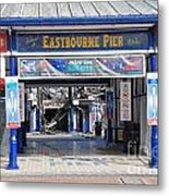 Eastbourne Pier Fire July 2014 Metal Print