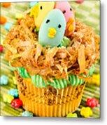 Easter Cupcakes  Metal Print