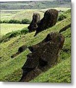 Easter Island 17 Metal Print