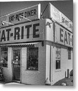Eat Rite Diner Route 66 Metal Print