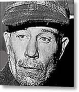 Ed Gein The Ghoul Who Inspired Psycho Plainfield Wisconsin C.1957-2013 Metal Print