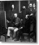 Edouard Manet (1832-1883) Metal Print