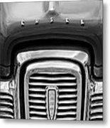 Edsel Corsair Grille Emblem Metal Print