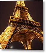 Eiffel Tower - Paris France - 011314 Metal Print by DC Photographer