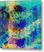 Electric Blue Metal Print by Julio Haro