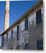 Electrical Repair Shop Alcatraz Island Metal Print