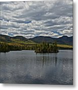 Elk Lake Metal Print