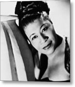 Ella Fitzgerald (1917-1996) Metal Print