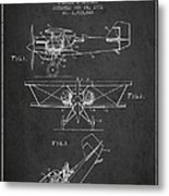 Emergency Flotation Gear Patent Drawing From 1931 Metal Print by Aged Pixel