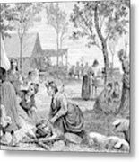 Emigrants Arkansas, 1874 Metal Print