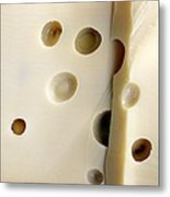 Emmental Cheese Metal Print