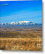 Emmett Valley Metal Print